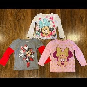 2T Minnie Mouse shirts